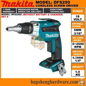 Makita DFS250Z-1a
