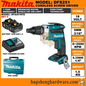 Makita DFS251RTE-1a