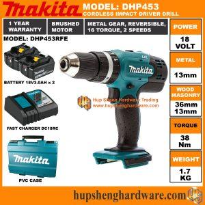 Makita DHP453RFEa