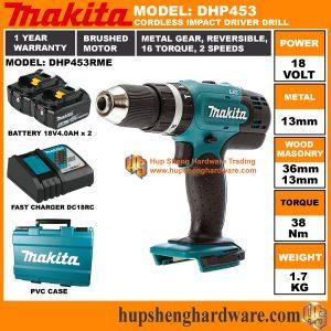 Makita DHP453RMEa