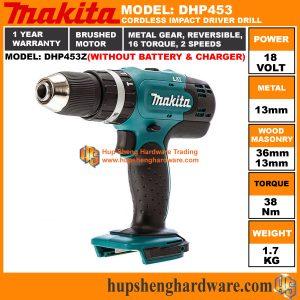 Makita DHP453Za