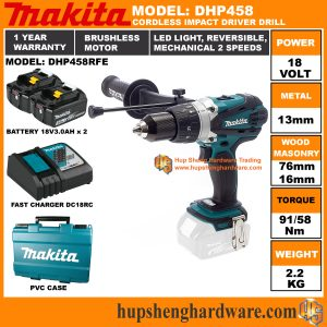 Makita DHP458RFEa
