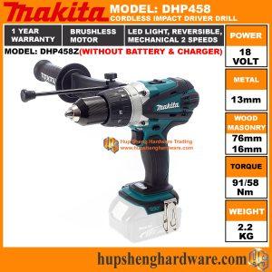 Makita DHP458Za