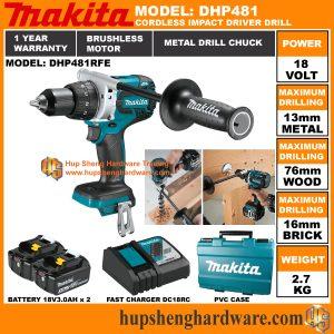 Makita DHP481RFEa