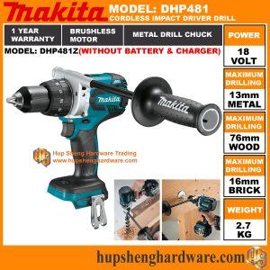 Makita DHP481Za
