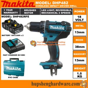 Makita DHP482RFEa