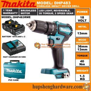Makita DHP483RMEa