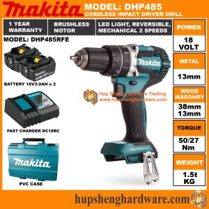 Makita DHP485RFEa