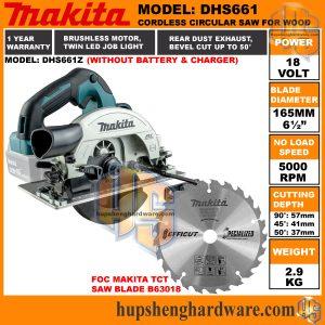 Makita DHS661Za