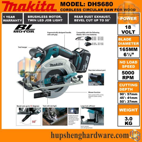 Makita DHS680a