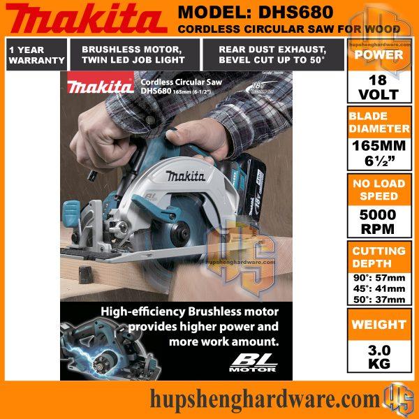 Makita DHS680c