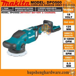Makita DPO500-1a