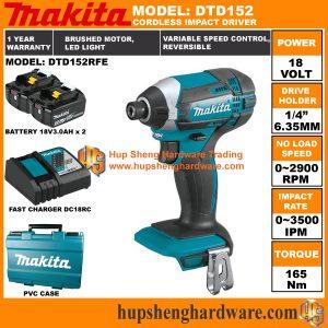 Makita DTD152RFEa
