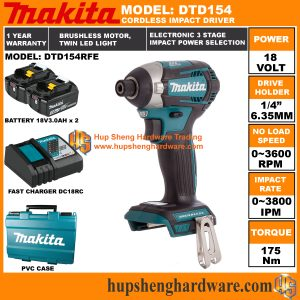 Makita DTD154RFEa