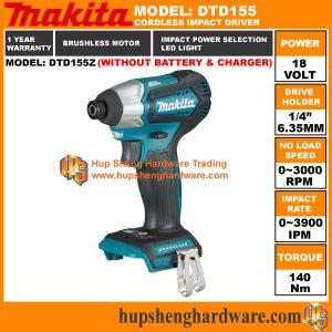 Makita DTD155Za