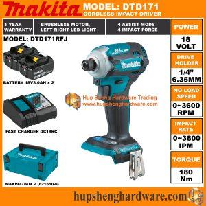 Makita DTD171RFJa