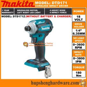 Makita DTD171Za