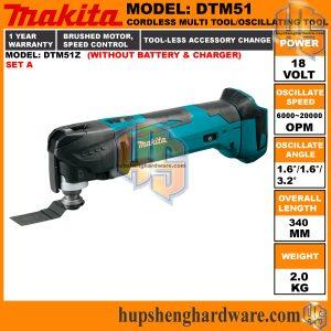 Makita DTM51Z-1a