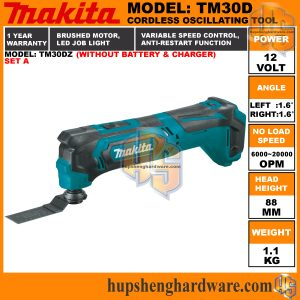 Makita TM30DZ-1aa