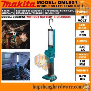 Makita DML801Z-a