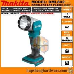 Makita DML802Z-1a