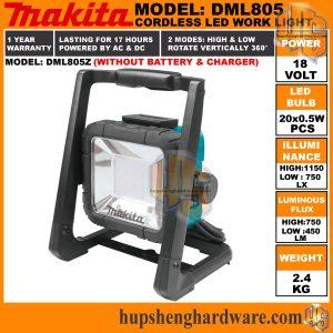 Makita DML805Z-a