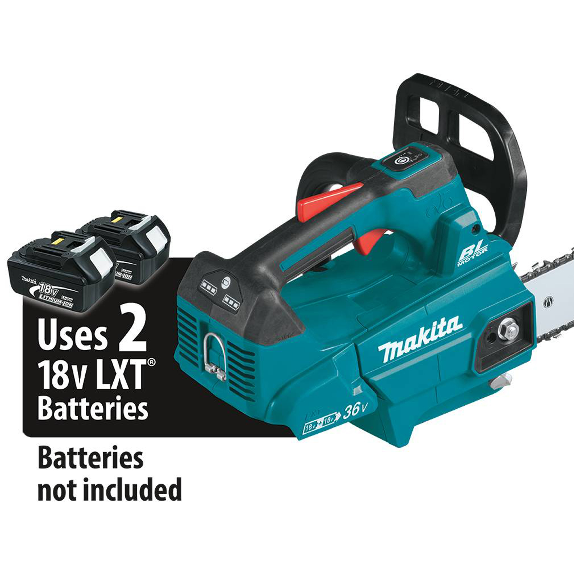 """Makita DUC406Z, Cordless Chainsaw, 36V, 16"""", 387mm, Speed 0-20m/s"""