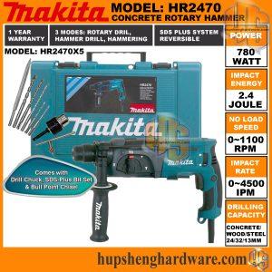Makita HR2470X5-1a