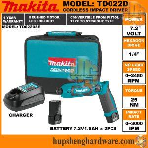 Makita TD022DSE-1a