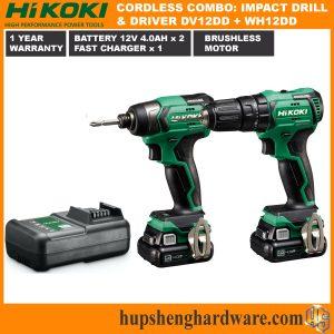 HIKOKI Cordless KC12DVWH3-1a