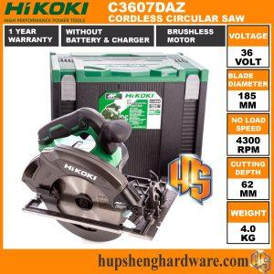 HiKOKI Circular Saw C3607DAZ-1a