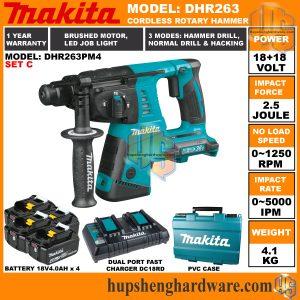 Makita DHR263PM4-2a