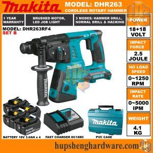 Makita DHR263RF4-2a