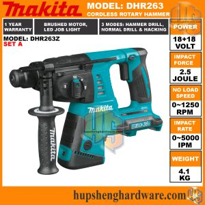 Makita DHR263Z-2a
