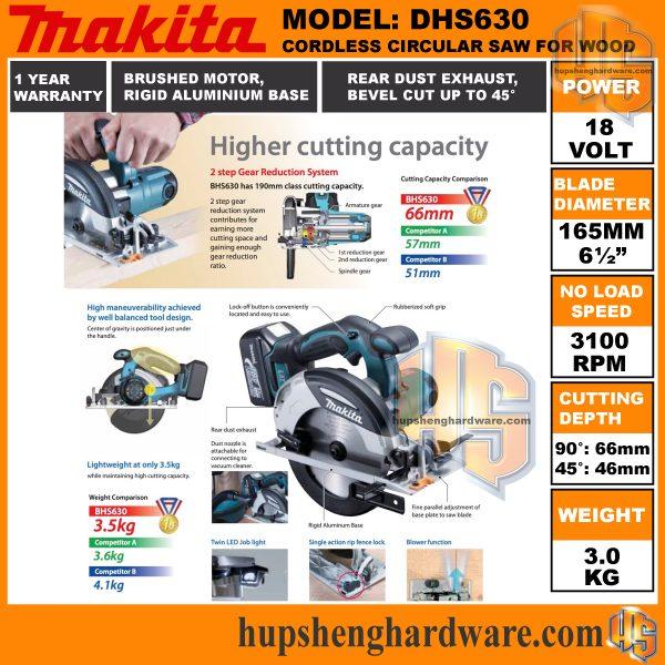 Makita DHS630a