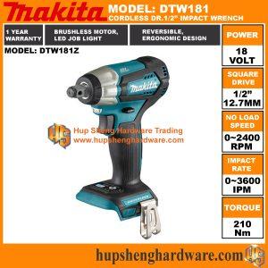 Makita DTW181Za