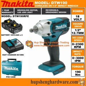 Makita DTW190RFEa