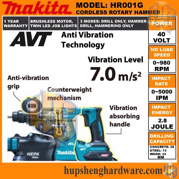 Makita HR001G-3aa