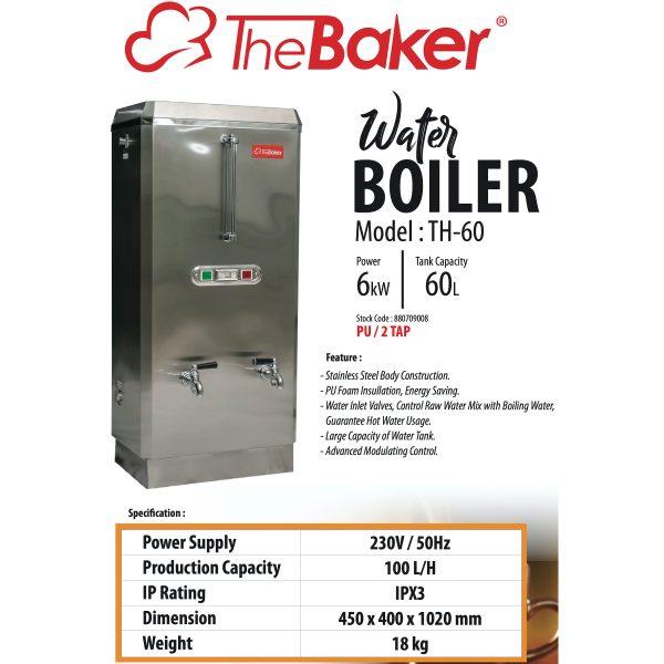 Baker Water Boiler TH60-3