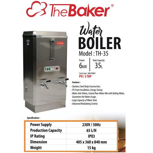THE BAKER Water Boiler TH35-4
