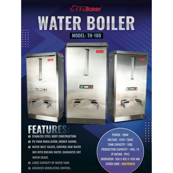 The Baker Water Boiler TH100-3