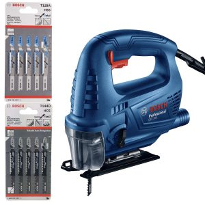 Bosch GST700 Jigsaw With Blades