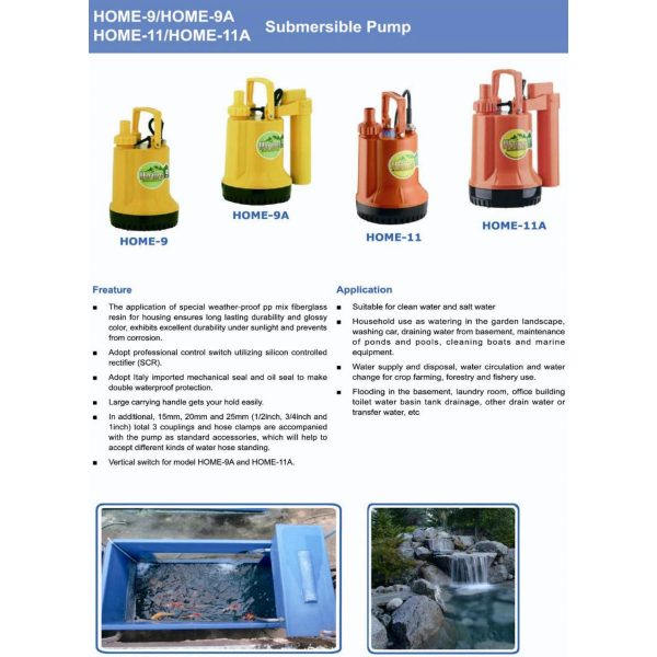 Mepcato Submersible Fish Pond Pump Home-1