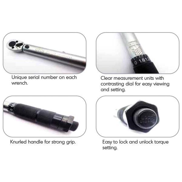 GTOS Torque Wrench GB01-1 GB02-1-2