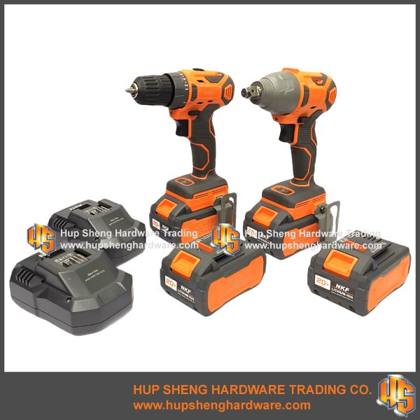NFK Cordless Power Tools Combo Kit-5