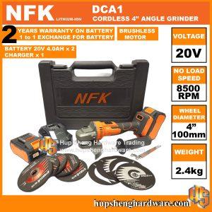 NFK DCA1-1a Cordless Angle Grinder
