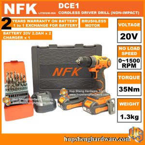 NFK DCE-1a Cordless Driver Drill