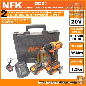 NFK DCE1 Cordless Drill-1aaa