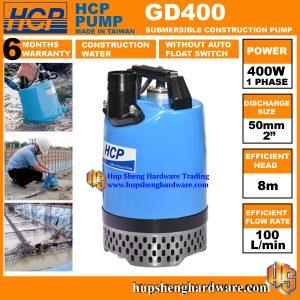 HCP Construction Pump GD400-1a