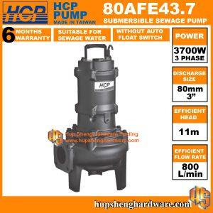 HCP 80AFE43.7 Submersible Sewage Pump-1a